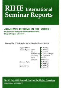 RIHE International Seminar Report No.10