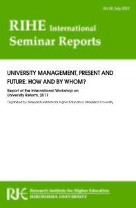 RIHE International Seminar Report No.18